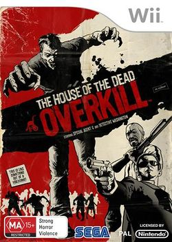 Box artwork for The House of the Dead: Overkill.