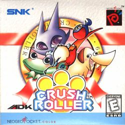 Box artwork for Crush Roller.