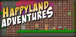 Box artwork for Happyland Adventures.