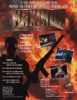 Box artwork for Maximum Force.