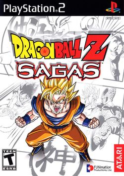 Box artwork for Dragon Ball Z: Sagas.