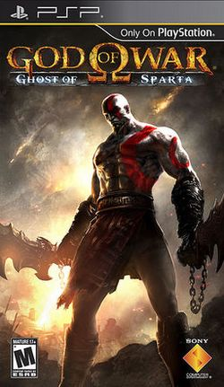 Box artwork for God of War: Ghost of Sparta.