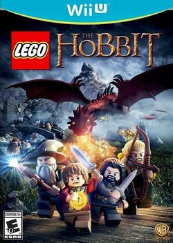 Box artwork for LEGO The Hobbit.