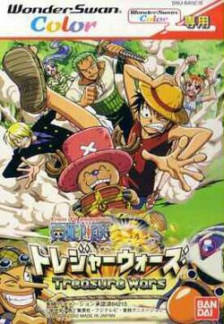 Box artwork for One Piece: Treasure Wars.