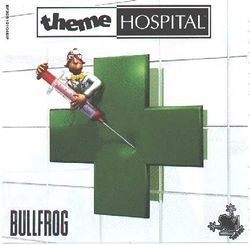 Box artwork for Theme Hospital.