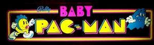 Baby Pac-Man marquee