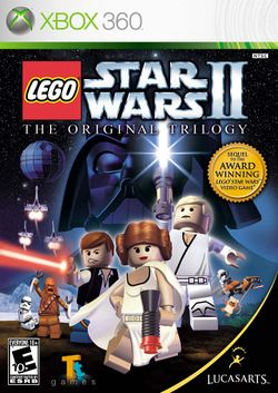 Box artwork for LEGO Star Wars II: The Original Trilogy.