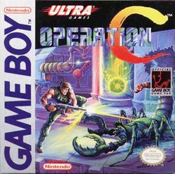 Box artwork for Operation C.