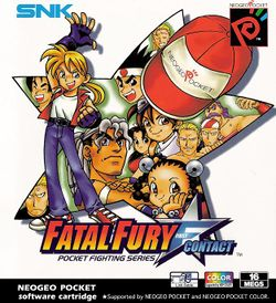 Box artwork for Fatal Fury: First Contact.