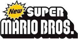 The logo for New Super Mario Bros..