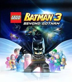 Box artwork for LEGO Batman 3: Beyond Gotham.