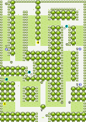 Pok 233 Mon Red And Blue Viridian Forest Strategywiki The Video Game Walkthrough And Strategy