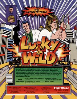 Box artwork for Lucky & Wild.