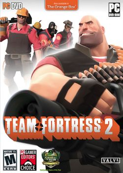 Box artwork for Team Fortress 2.