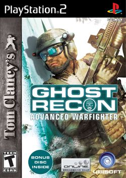 Box artwork for Tom Clancy's Ghost Recon Advanced Warfighter.