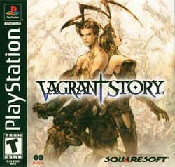 Box artwork for Vagrant Story.