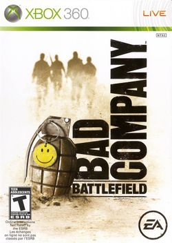 Box artwork for Battlefield: Bad Company.