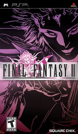 Box artwork for Final Fantasy II Anniversary Edition.