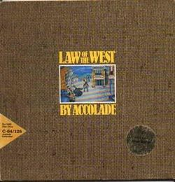 Box artwork for Law of the West.