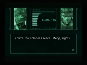 How To Unlock A Door >> Metal Gear Solid/Finding Meryl — StrategyWiki, the video game walkthrough and strategy guide wiki