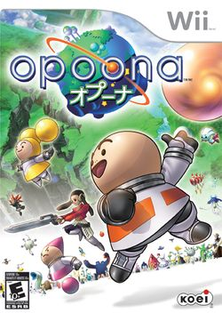 Box artwork for Opoona.