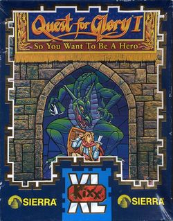 Box artwork for Quest for Glory I: So You Want To Be A Hero?.