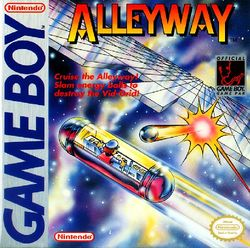 Box artwork for Alleyway.
