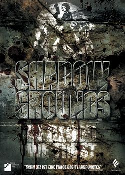Box artwork for Shadowgrounds.