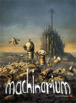 Box artwork for Machinarium.