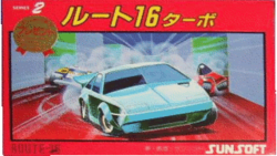 Box artwork for Route-16 Turbo.