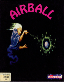 Box artwork for Airball.