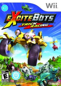 Box artwork for Excitebots: Trick Racing.