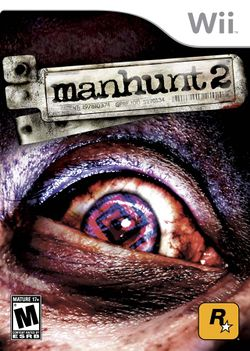 Box artwork for Manhunt 2.