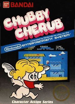 Box artwork for Chubby Cherub.