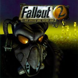 Box artwork for Fallout 2.