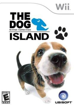 Box artwork for The Dog Island.