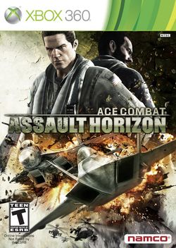 Box artwork for Ace Combat: Assault Horizon.