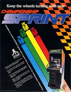 Box artwork for Championship Sprint.