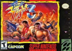 Box artwork for Final Fight 3.