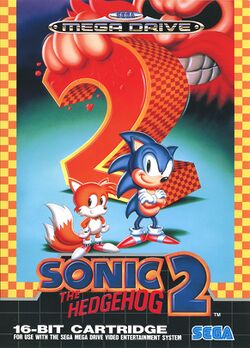 Box artwork for Sonic the Hedgehog 2.