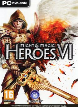 Box artwork for Might & Magic Heroes VI.