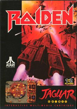 Box artwork for Raiden.