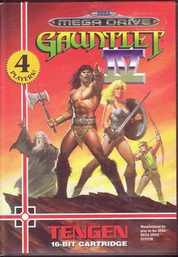 Box artwork for Gauntlet IV.