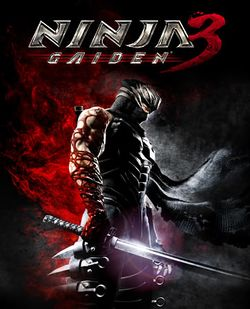 Box artwork for Ninja Gaiden 3.