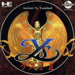 Box artwork for Ys I & II.