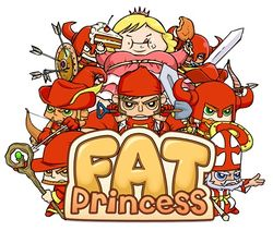 Box artwork for Fat Princess.