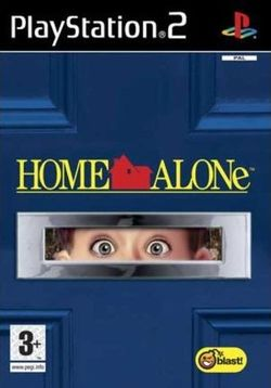 Box artwork for Home Alone.