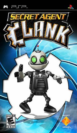 Box artwork for Secret Agent Clank.