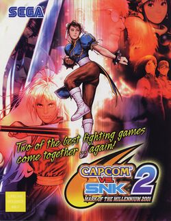 Box artwork for Capcom vs. SNK 2.