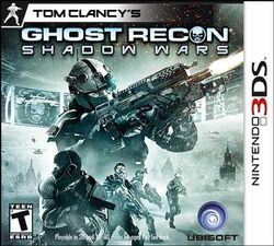 Box artwork for Tom Clancy's Ghost Recon: Shadow Wars.